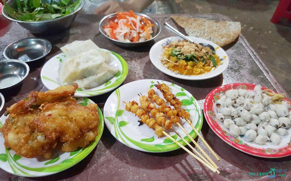 ẩm thực đường phố Phan Thiết