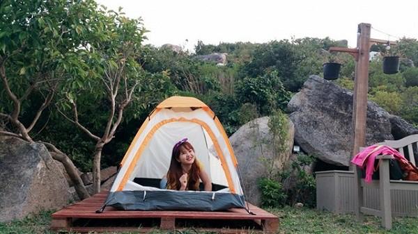 Lều cá nhân tại Khu dã ngoại Trung Lương