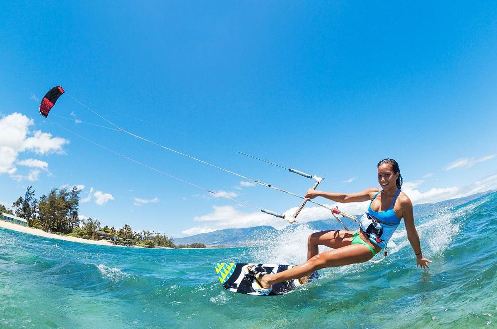 Lướt ván diều ở Mũi Né